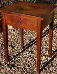 Country Hepplewhite Walnut Stand