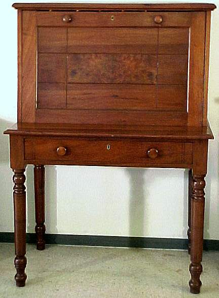 - Plantation Desk, Walnut The Webmaster's Antiques